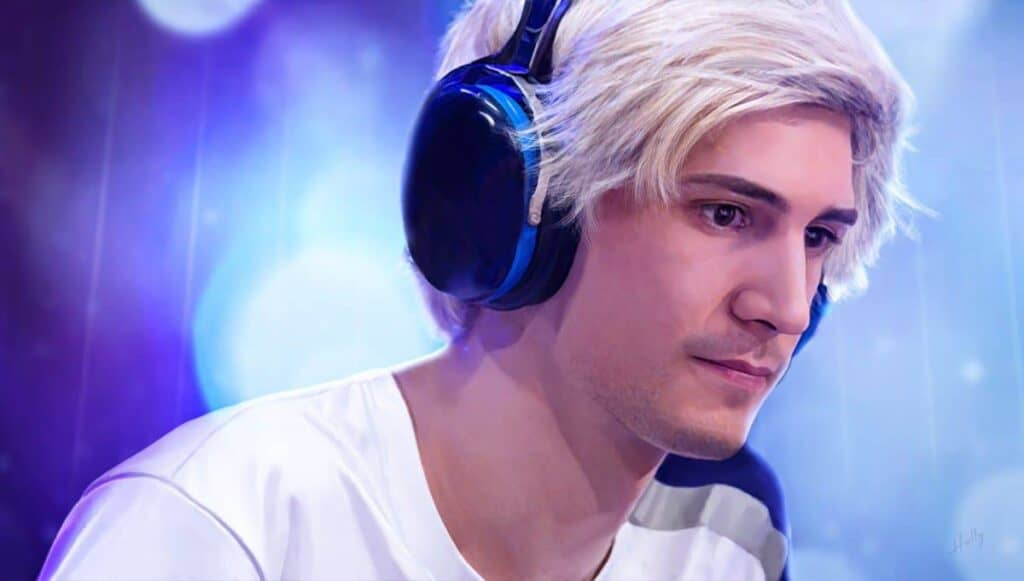 XQC overlay for stream